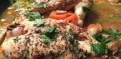 Chicken Strogganof - the easy way in the slow cooker. | Just Tessa